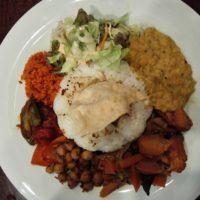 柏駅東口徒歩10分 インド・スリランカ料理 アーユーボワンで 究極の薬膳食コロンボプレートを完食!スリランカ気分を味わう!