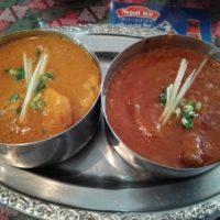 南柏駅徒歩2分 インドネパール料理 ラージャ (RAJA) 南柏店で2種類のカレーが楽しめるランチセットを堪能。子供連れも安心