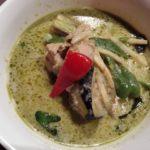 松戸駅西口徒歩3分 タイ料理店 Muu Tokyo キテミテマツド アジアンフードガーデンで、グリーンカレーを食す。具沢山で味も一級品!