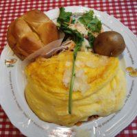 テラスモール松戸のオムライスレストラン ラケルのオムライスはモンサンミッシェルの味!