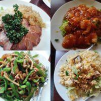 東銀座駅徒歩2分 中華料理 華宴 銀座店でエビチリ、青椒肉絲等アラカルトでランチ!リーズナブルな価格に満足!
