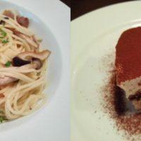 松戸駅西口 徒步7分の人気イタリアン サウザンシーズンのランチセットはパスタもデザートも選択肢が豊富! チョチャーラのパスタをいただく!