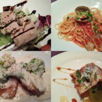 新八柱駅徒歩7分のイタリアン ディ マーレ (Di mare)にてイタリアンランチコース!前菜・サラダ・パスタ・肉料理・デザートも楽しめてコスパよし!
