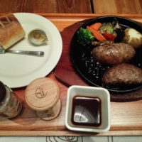 セブンパークアリオ柏のいしがまやハンバーグは、コスパは?なるも、アンガス種 黒毛牛100%のハンバーグが美味!
