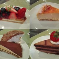 上本郷駅徒歩16分のマカロニ市場にてケーキ&タルトビュッフェに挑戦するも、 5個しか食べられず涙!