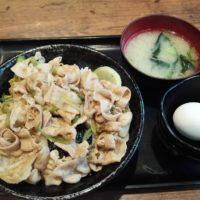 肉の日に伝説のすた丼屋(ミーナ津田沼店)でお肉増量1.5倍のすた丼を食べてみた!たっぷり味変できるほどの量に満足!